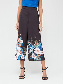 ted-baker-jamboree-printed-culottes-black