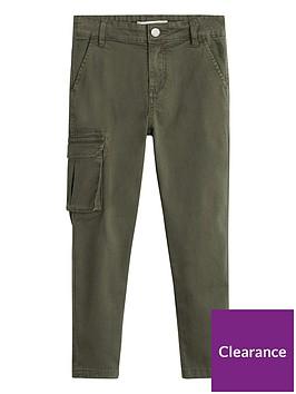 mango-boys-utility-pocket-trousers-khaki