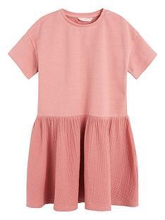 mango-girls-drop-hem-sweat-dress-pink