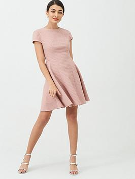 Ted Baker Ted Baker Cherisa Seam Detail Texture Jersey Dress - Nude Pink Picture