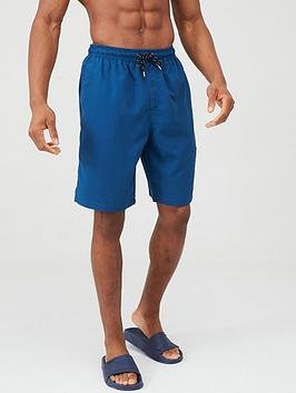 V by Very V By Very Basic Longer Length Swimming Short - Deep Blue Picture