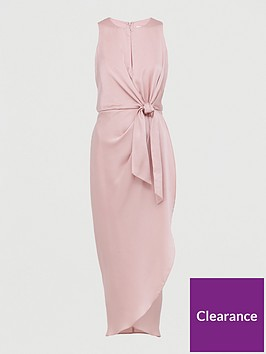 ted-baker-keyhole-detail-midi-dress-pink
