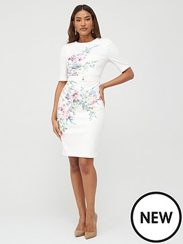 ted-baker-jersey-bodycon-dress-ivory