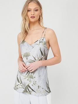 Ted Baker Ted Baker Haryen Highland Printed Cami - Grey Picture