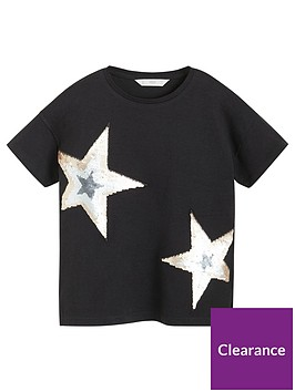 mango-girls-short-sleeve-sequin-star-t-shirt-black