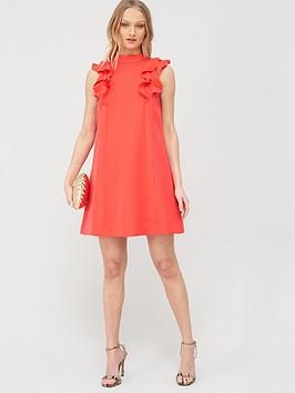 Ted Baker Ted Baker Sunrey Ruffle Frill Swing Dress - Coral Picture