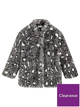 mango-girls-faux-fur-leopard-print-coat-grey