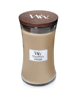 WoodWick Woodwick Large Hourglass Candle &Ndash; At The Beach Picture
