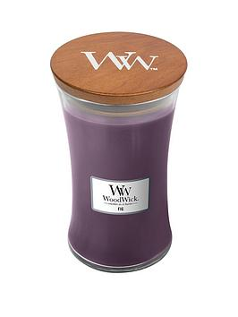 WoodWick Woodwick Large Hourglass Candle &Ndash; Fig Picture