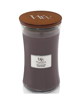 WoodWick Woodwick Large Hourglass Candle &Ndash; Sueded Sandalwood Picture