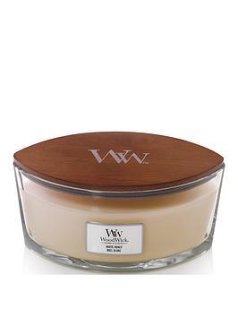 WoodWick Woodwick Hearthwick Ellipse Candle &Ndash; White Honey Picture