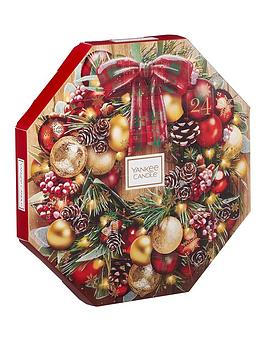 Yankee Candle Yankee Candle Christmas Wreath Advent Calendar Picture