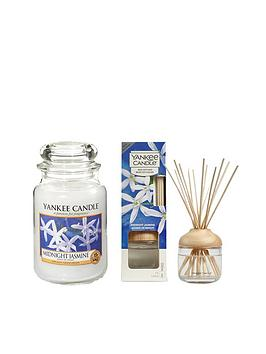 Yankee Candle Yankee Candle Midnight Jasmine Large Jar Candle And Reed  ... Picture