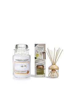yankee-candle-fluffy-towels-large-jar-candle-and-reed-diffuser-bundle