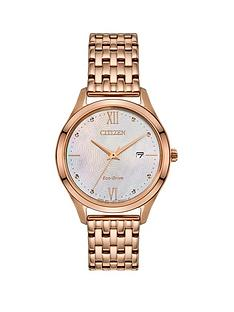 citizen-eco-drive-mother-of-pearl-date-dial-gold-stainless-steel-bracelet-ladies-watch