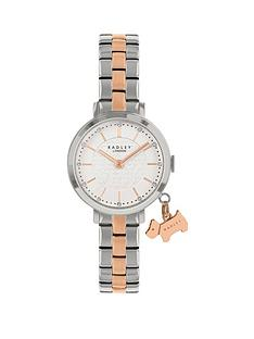 radley-radley-silver-and-rose-gold-detail-glitter-dial-two-tone-stainless-steel-bracelet-ladies-watch