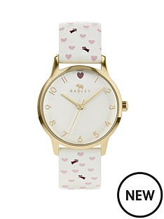radley-radley-silver-dial-cream-dog-and-heart-print-leather-strap-ladies-watch