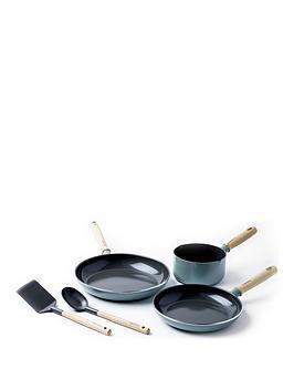 Greenpan Greenpan Mayflower 5-Piece Ceramic Non-Stick Induction Pan Set Picture