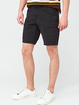 V by Very V By Very Cargo Shorts - Black Picture