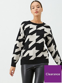 v-by-very-large-dogtooth-printed-jumper-print