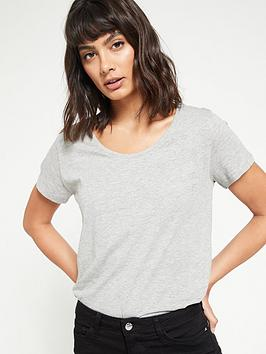 v-by-very-the-essential-scoop-neck-t-shirt--grey