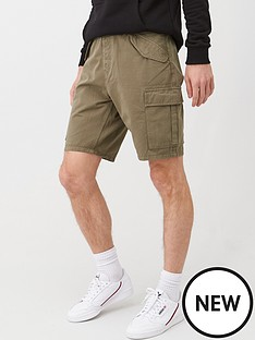v-by-very-mens-cargo-shorts-khaki