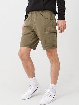 V by Very V By Very Men'S Cargo Shorts - Khaki Picture