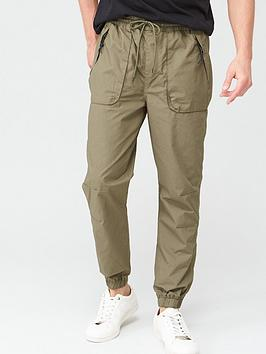 V by Very V By Very Cuffed Tech Pants - Khaki Picture