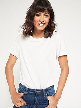 V by Very V By Very The Essential Crew Neck T-Shirt - Ivory Picture