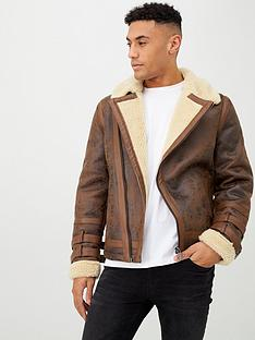 river-island-walnut-biker-jacket