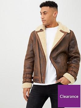 river-island-walnut-biker-jacket