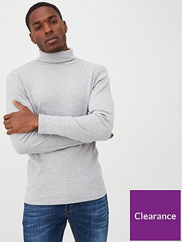 river-island-grey-roll-neck-long-sleeve-slim-fit-t-shirt