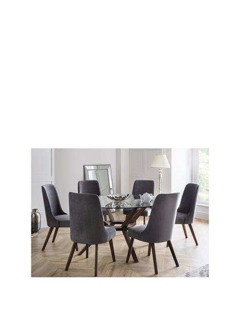 julian-bowen-chelsea-large-140-cm-glass-dining-table-and-6-huxley-chairs