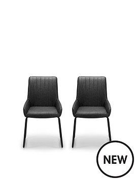 julian-bowen-pair-of-soho-faux-leather-and-metal-dining-chairs