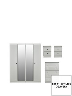 swift-verve-ready-assembled-4-piece-package-4-door-mirrored-wardrobe-5-drawer-chest-and-2-bedside-chests