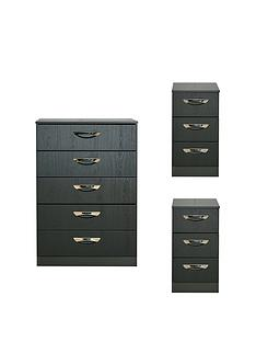 swift-canterbury-3-piece-ready-assembled-package-5-drawer-chest-and-2-bedside-chests