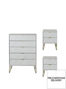 swift-marbella-ready-assembled-3-piece-package-5-drawer-chest-and-2-bedside-chests