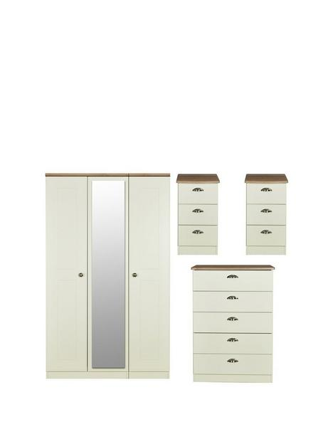 swift-charlotte-4-piece-partnbspassembled-package-3-door-mirrored-wardrobe-5-drawer-chest-and-2-bedside-chests