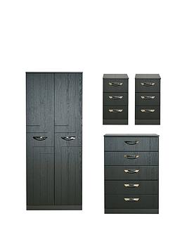 Swift Swift Canterbury 4 Piece Ready Assembled Package &Ndash; 2 Door  ... Picture
