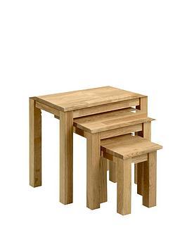 Julian Bowen Julian Bowen Coxmoor Nest Of Tables Picture