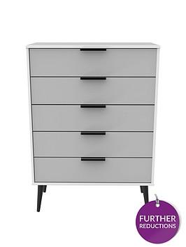 swift-copenhagen-ready-assembled-5-drawer-chest