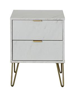 Swift Swift Marbella Ready Assembled 2 Drawer Bed Chest With Integrated  ... Picture
