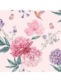 arthouse-glitter-spring-blossom-wallpaper