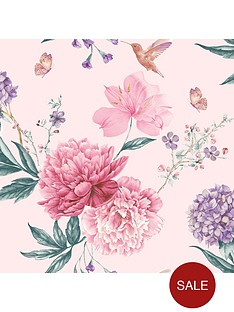 arthouse-glitter-spring-blossom-wallpaper