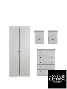 swift-verve-ready-assembled-4-piece-package-2-door-wardrobe-5-drawer-chest-and-2-bedside-chests