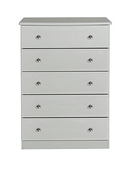 Swift Swift Verve Ready Assembled 5 Drawer Chest Picture