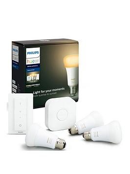 Philips Philips Hue Bt - White Ambiance E27 Starter Kit Picture