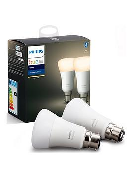 Philips Philips Hue Bt - White Ambiance B22  - B22 Twin Pack Bulb Picture