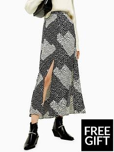topshop-topshop-tall-spot-maxi-skirt-monochrome