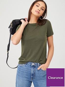 v-by-very-crew-neck-short-sleeve-modal-t-shirt-khaki
